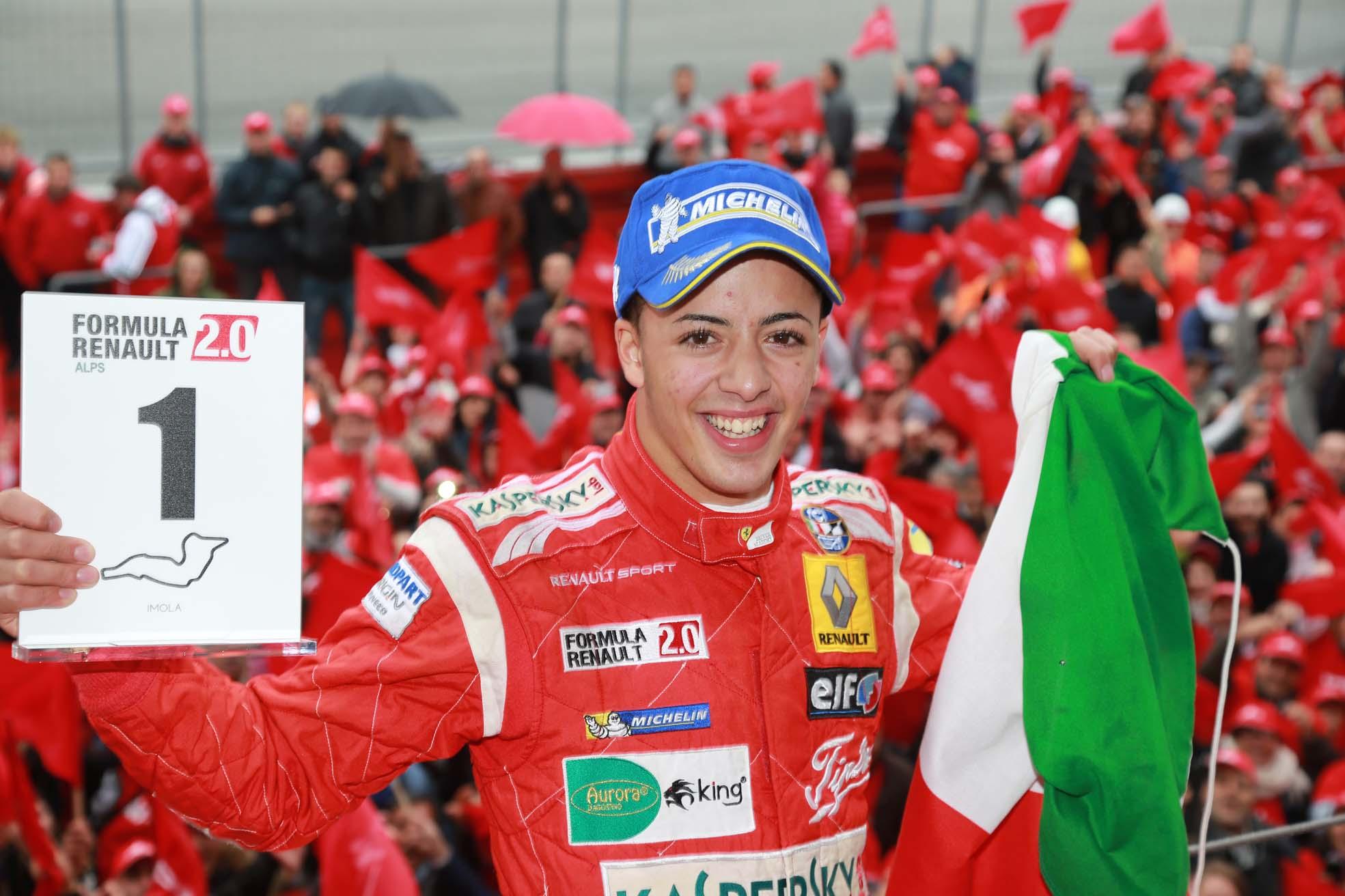 Vince Ghiotto, Fuoco Campione