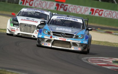 Audi vs Mercedes: ultimo atto a Vallelunga