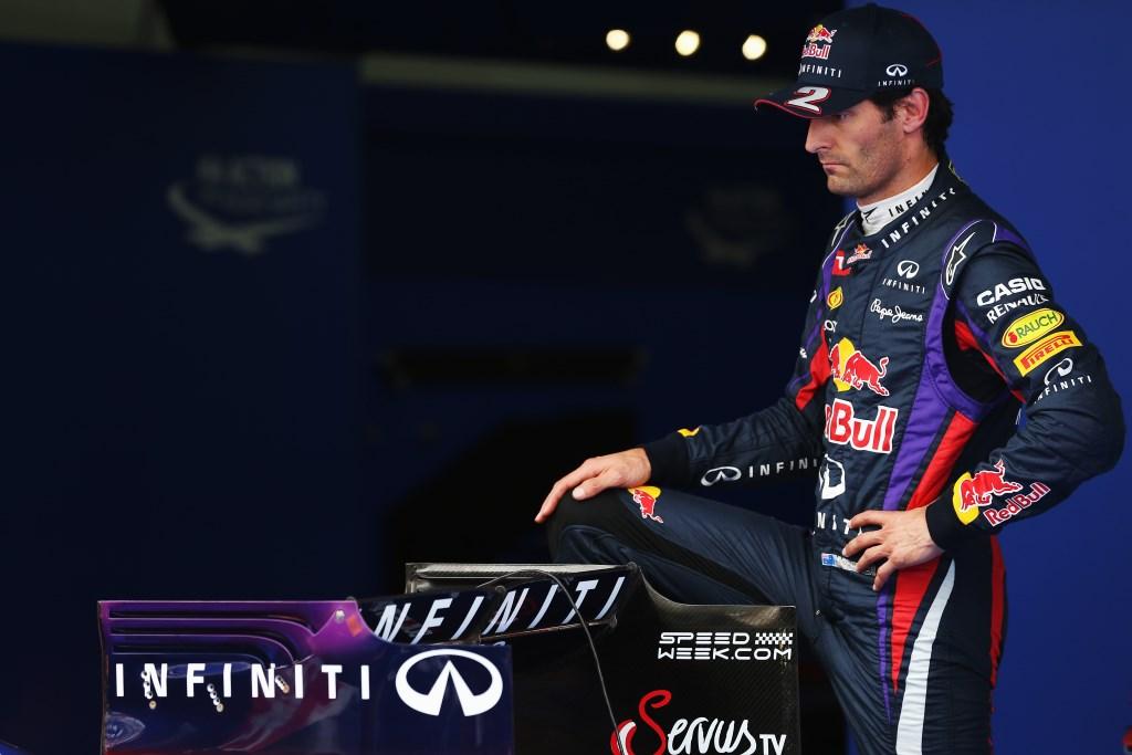 Webber, qualifica in ottica gara