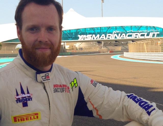Robert Cregan ad Abu Dhabi con Trident