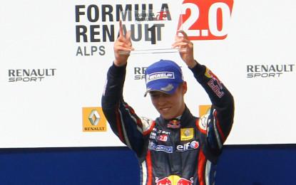 Daniil Kvyat: dalla F.Renault 2.0 Alps alla F1 in un anno