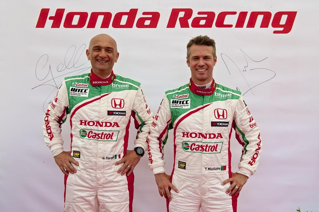 Honda conferma Tarquini e Monteiro per WTCC 2014