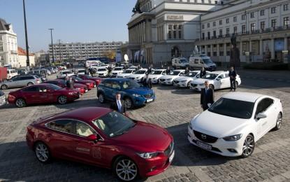 Successo per Mazda al 13° Summit Mondiale dei Nobel per la Pace