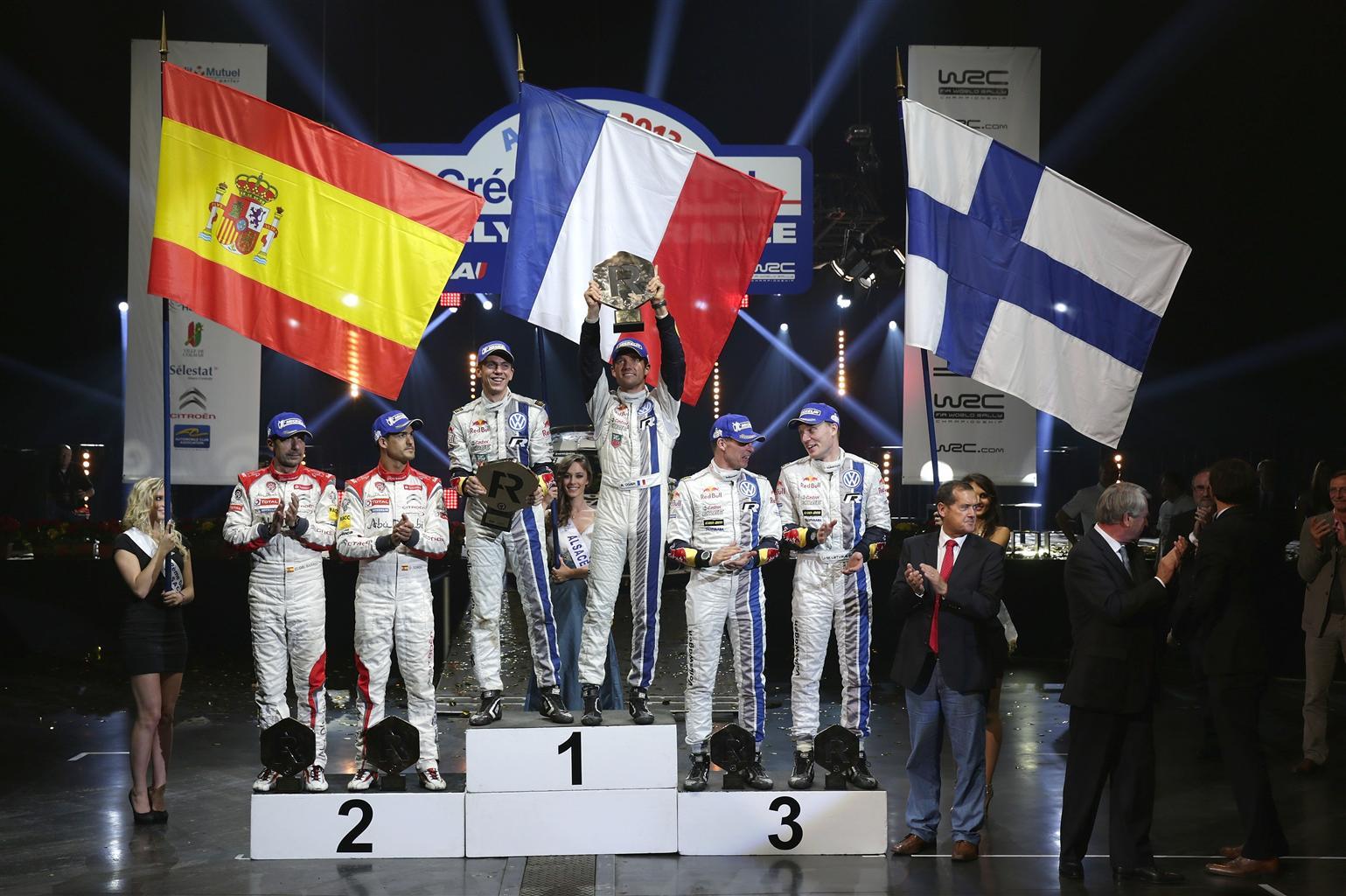 Bis per Ogier: Mondiale e Rally di Francia