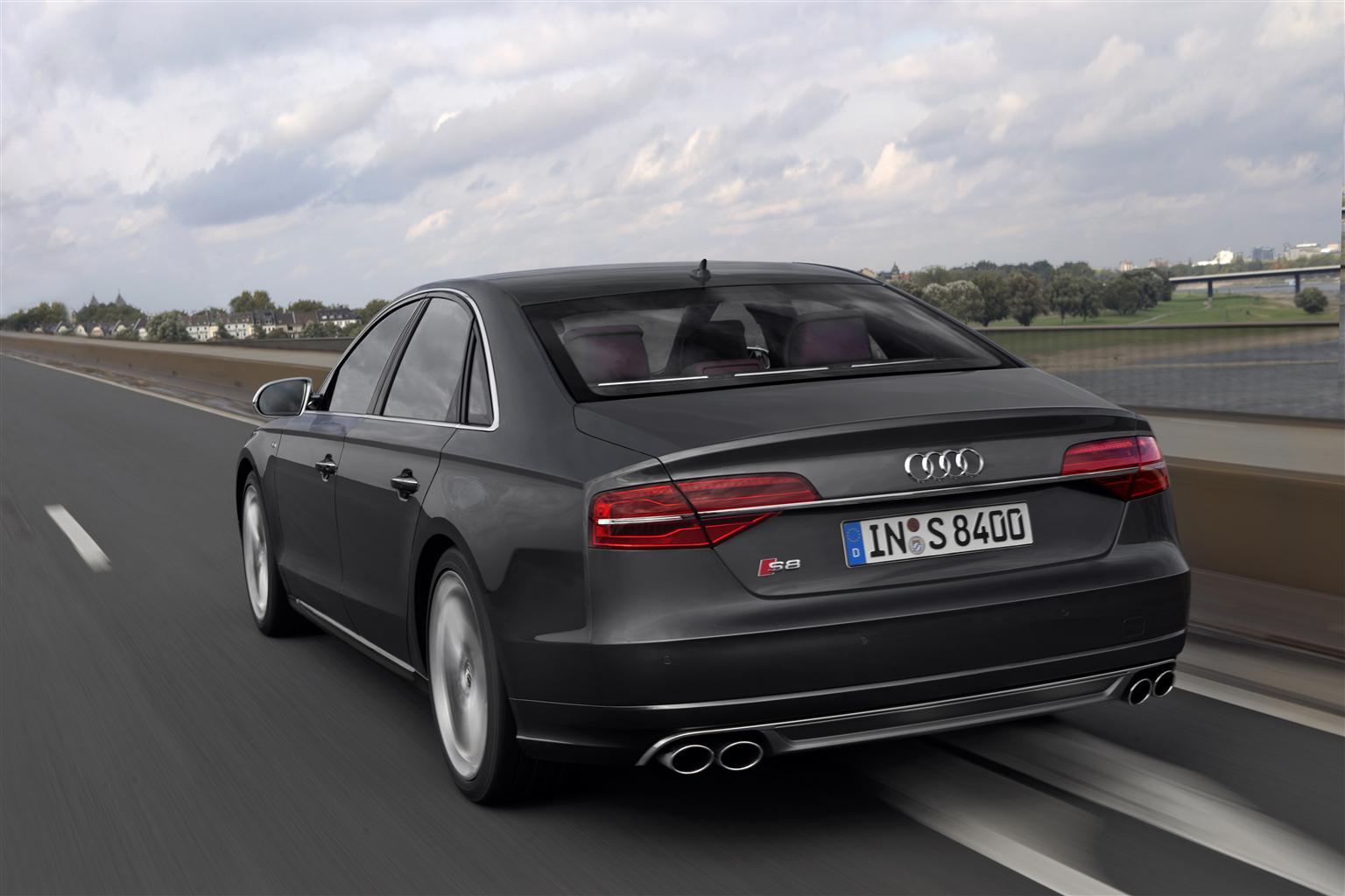 Nuova A8, l'ammiraglia Audi