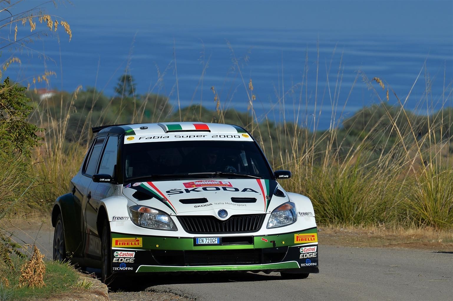 ŠKODA Italia Motorsport al Rallye Sanremo
