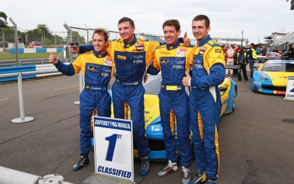 GTSPRINT: il Team Ukraine Campione all'esordio