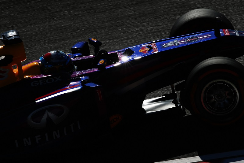 Prove libere: gli altri escono, Vettel svetta