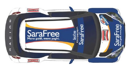 SaraFree al Monza Rally Show con Capello