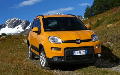 Fiat Panda Trekking Natural Power al 'Green Road Show'