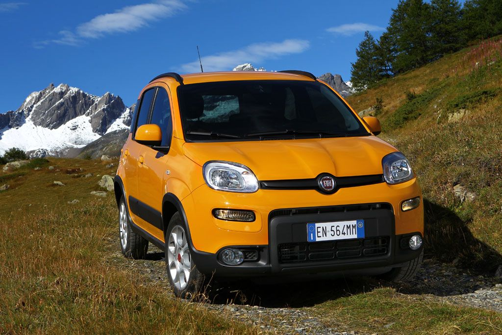 Fiat Panda Trekking Natural Power al 'Green Road Show'