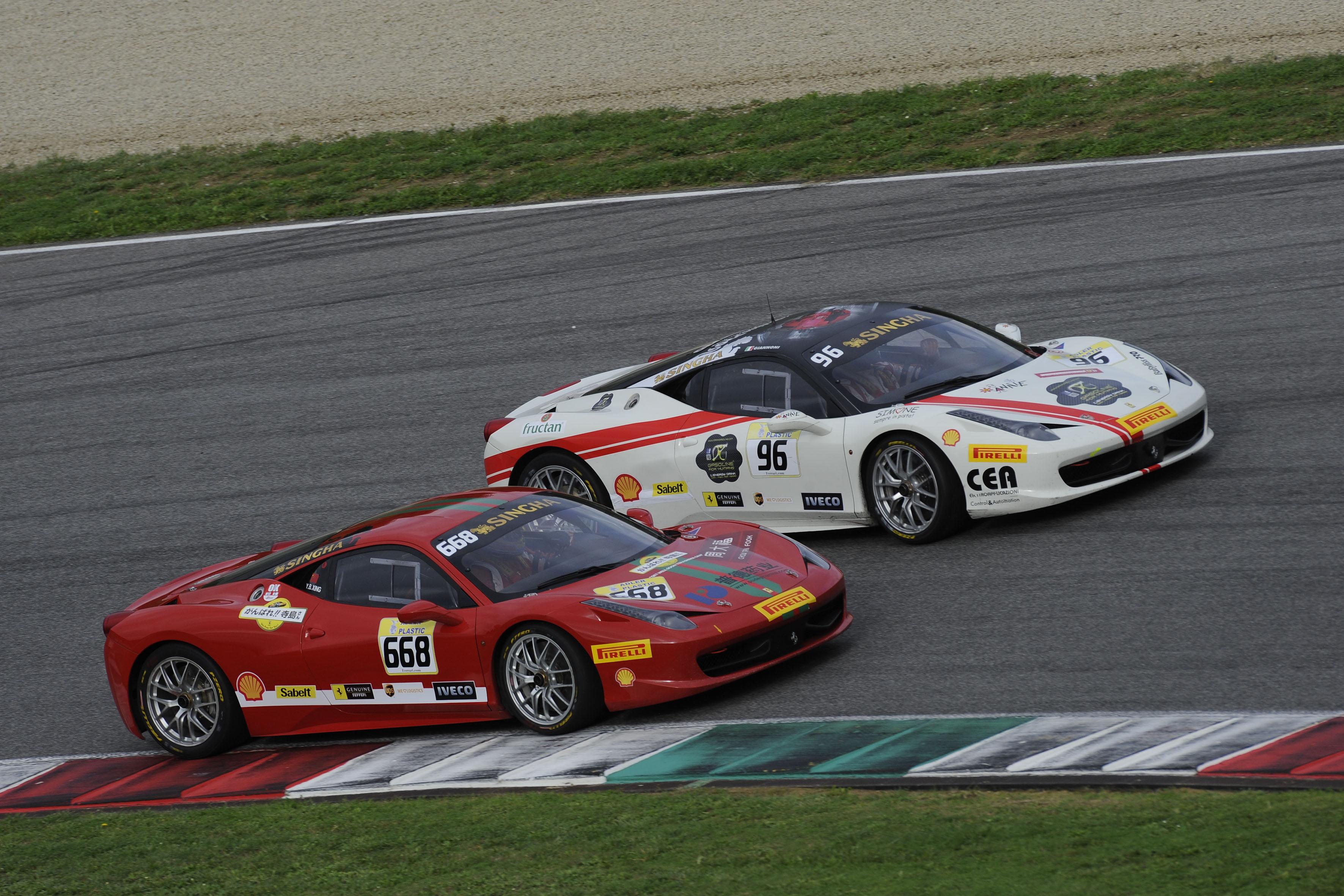 Al Mugello comincia lo spettacolo Ferrari