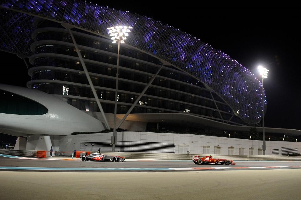 Abu Dhabi: la griglia