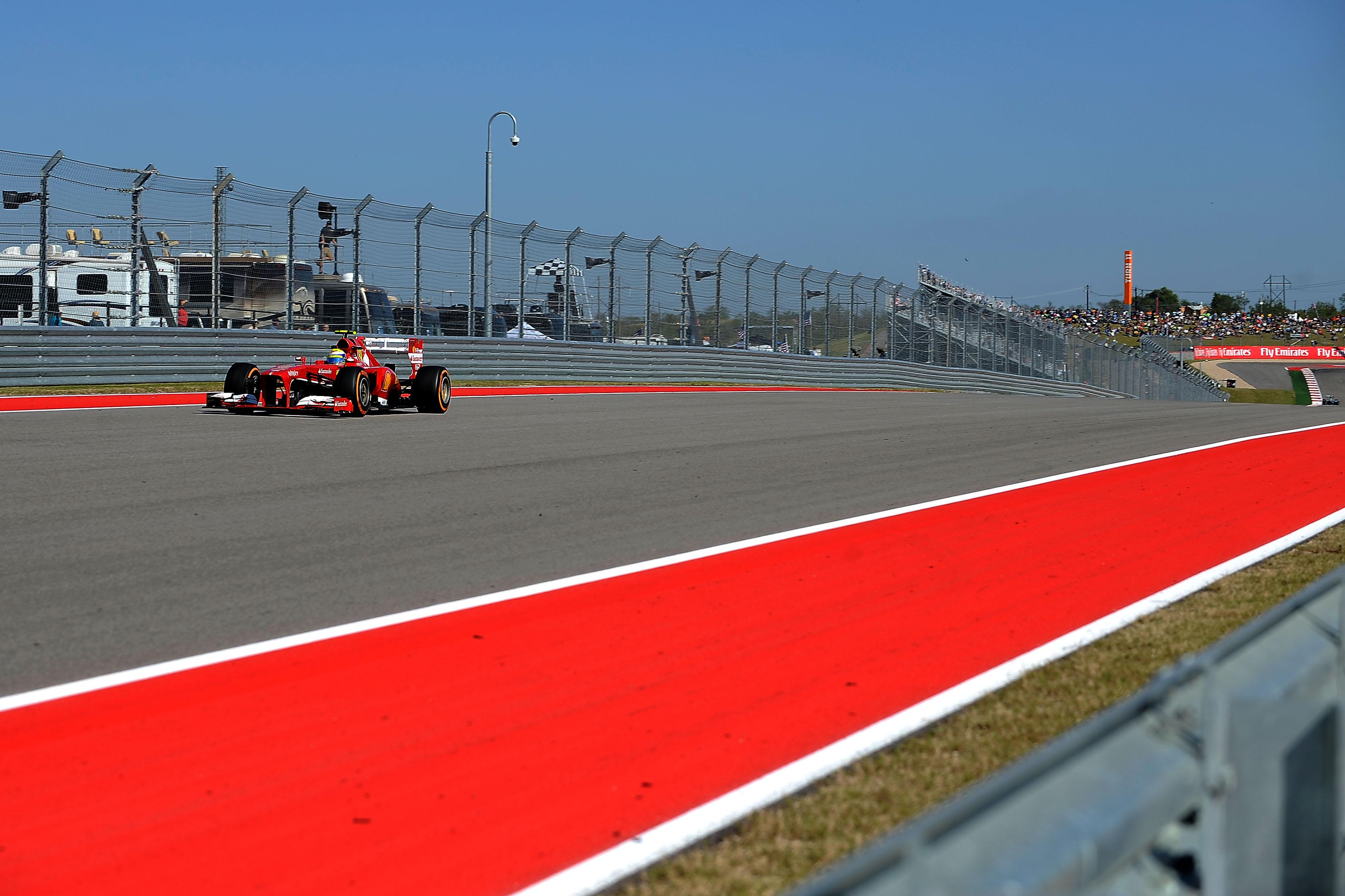 USA: terza e settima fila per Alonso e Massa
