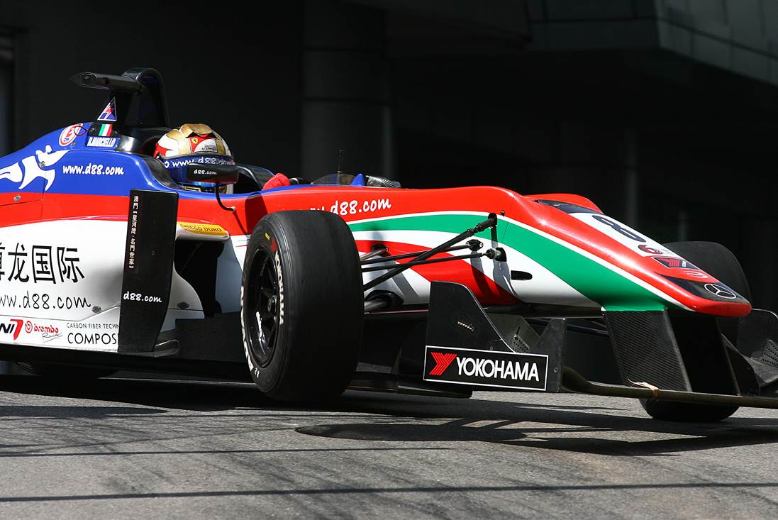 Macao: Marciello sul podio della 'Qualification Race'