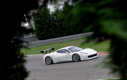 Anteprima Ferrari 458 Challenge Evoluzione