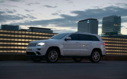 Jeep Grand Cherokee 'Best Mid-Size SUV'