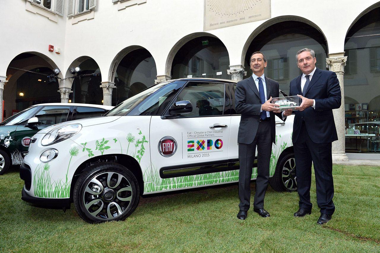 Expo 2015: prime Fiat consegnate!