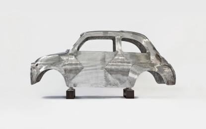 Fiat 500 protagonista della mostra 'In Reverse'