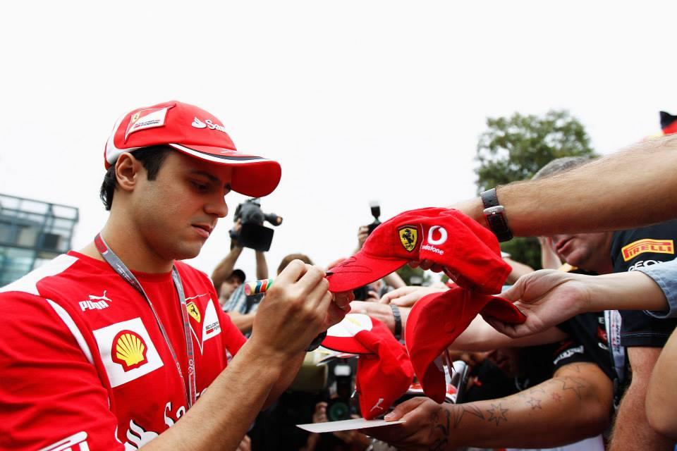 Il tributo di Shell a Felipe Massa