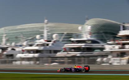 Abu Dhabi: la RBR rioccupa la prima fila