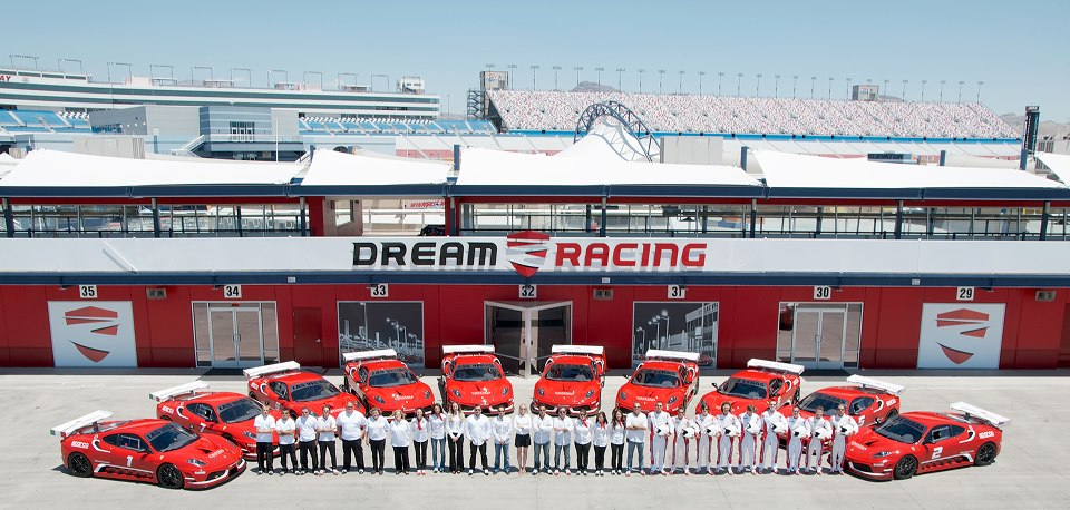 Dream Racing: una driving experience unica a Las Vegas