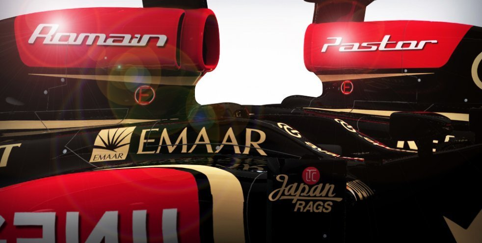 Grosjean e Maldonado in Lotus F1 Team nel 2014