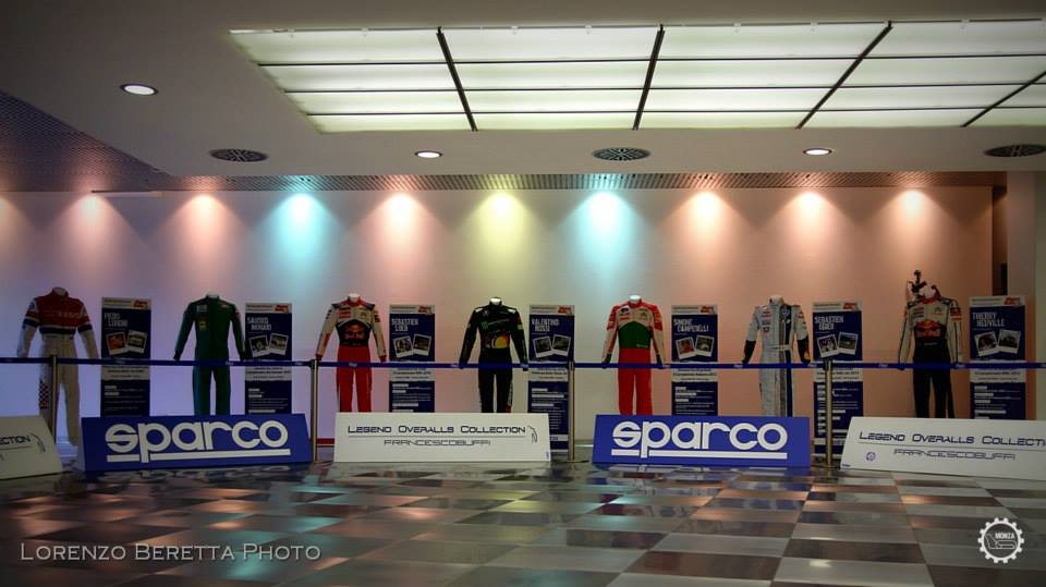 "A Monza la mostra ""Legend Overalls Collection"""