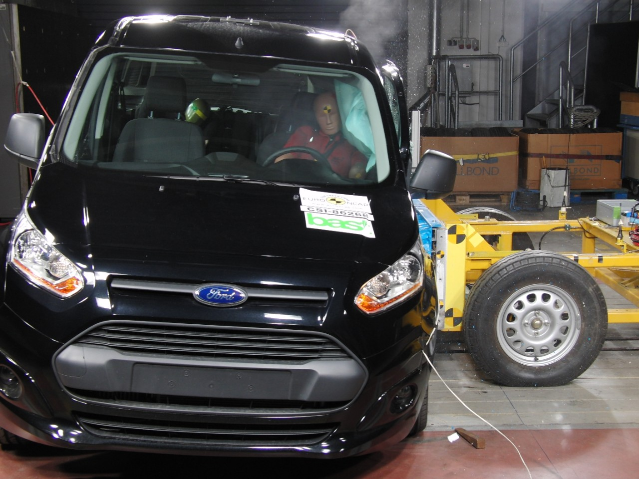 Nuovo Ford Tourneo Connect, sicurezza al top