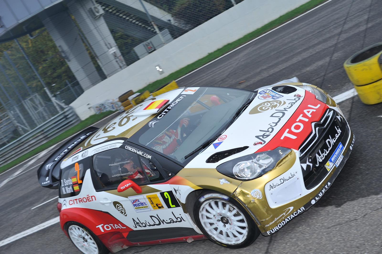 A Sordo-Marti il Monza Rally Show 2013