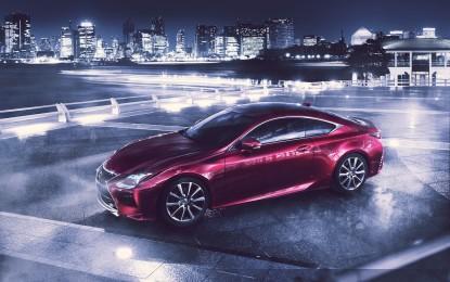 A Tokyo Lexus presenta la RC e la LF-NX