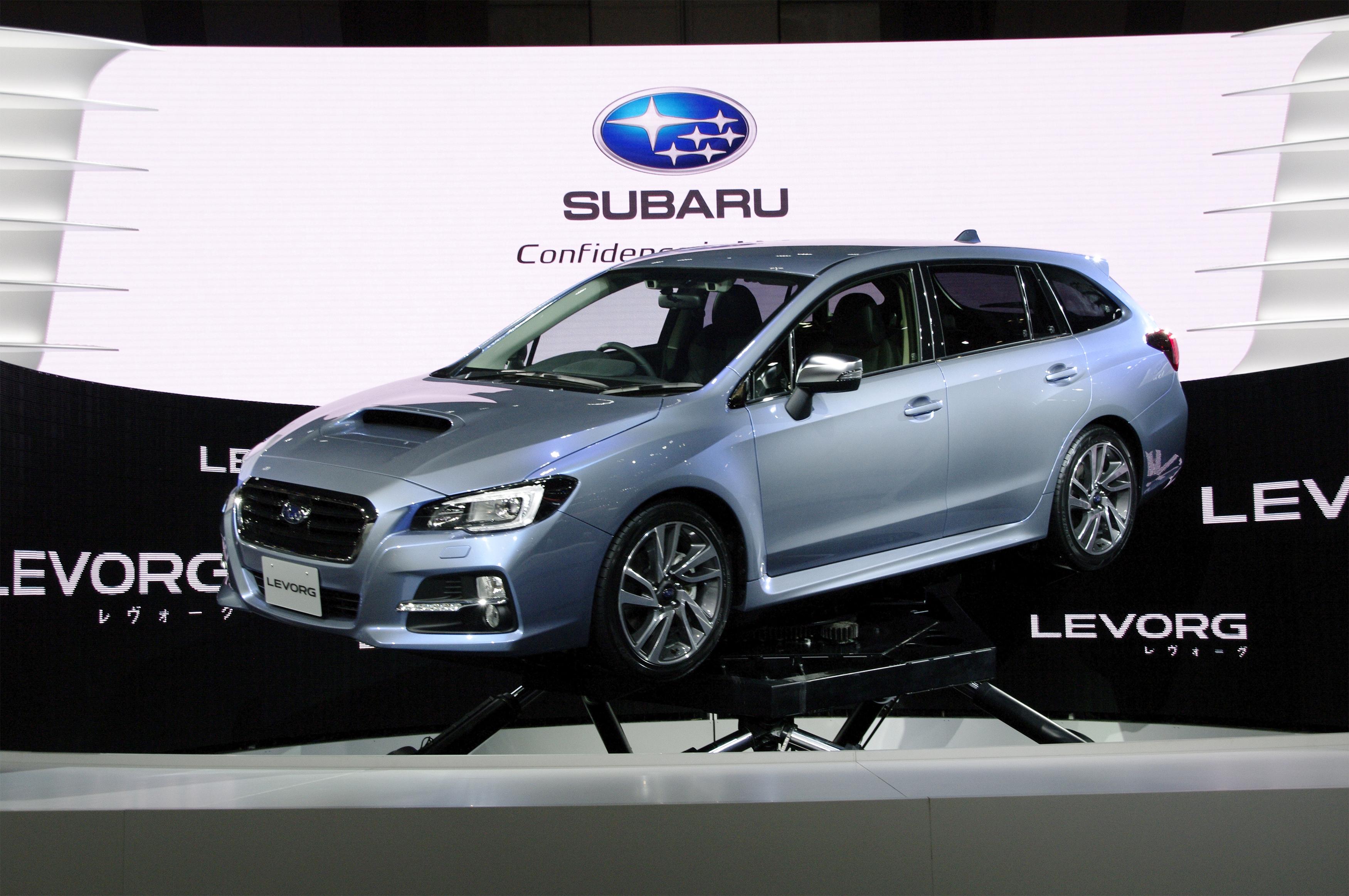 Presentata la Subaru LEVORG