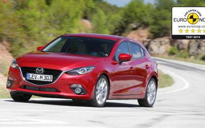 Cinque Stelle Euro NCAP per la nuova Mazda3