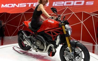 Monster 1200 moto più bella del Salone