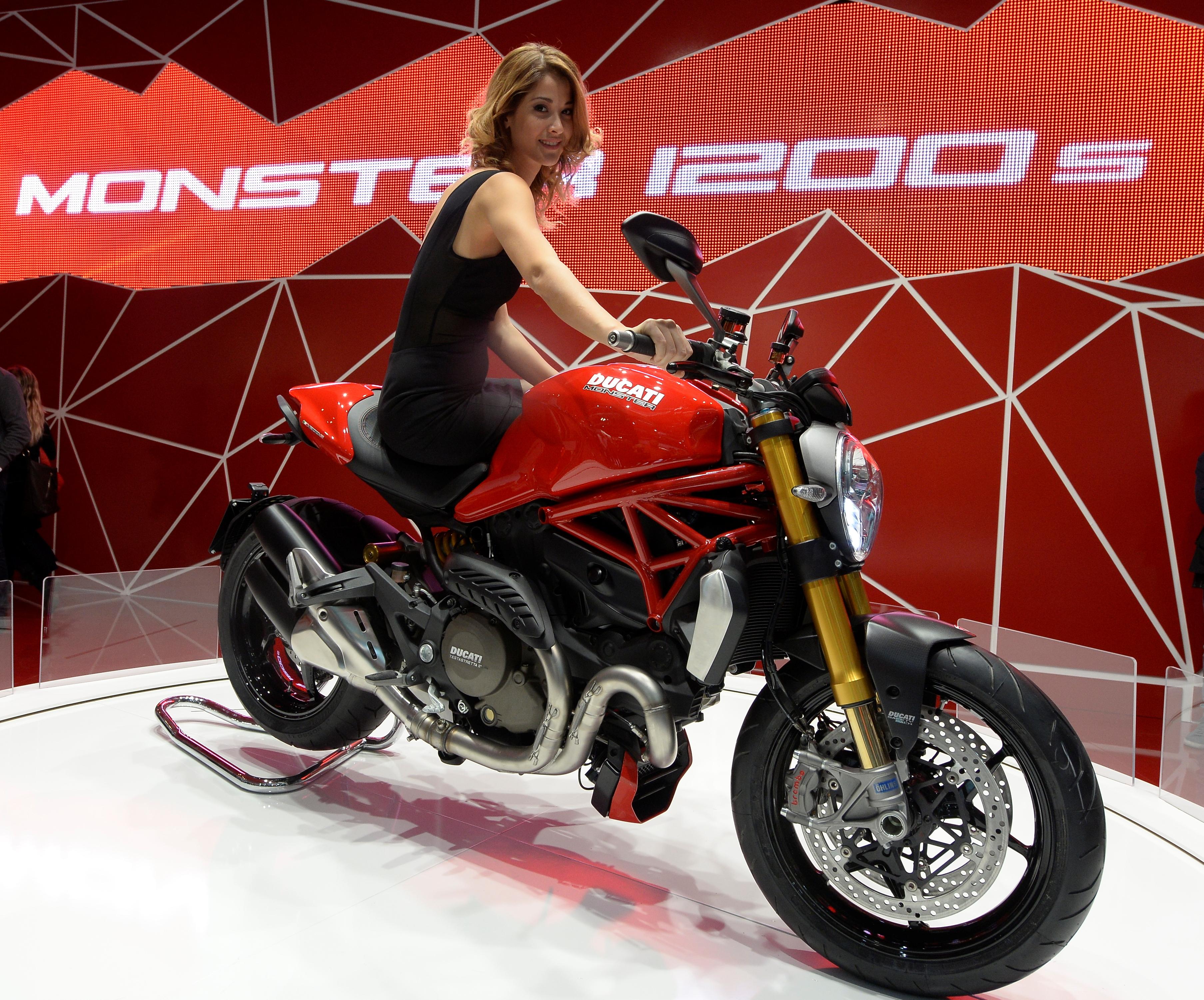 Poster Ducati Monster
