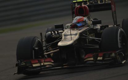 Abu Dhabi: prime libere alla Lotus di Grosjean