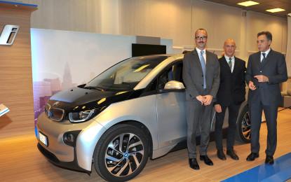 La nuova i3 presentata a BMW Motorsport di Mestre