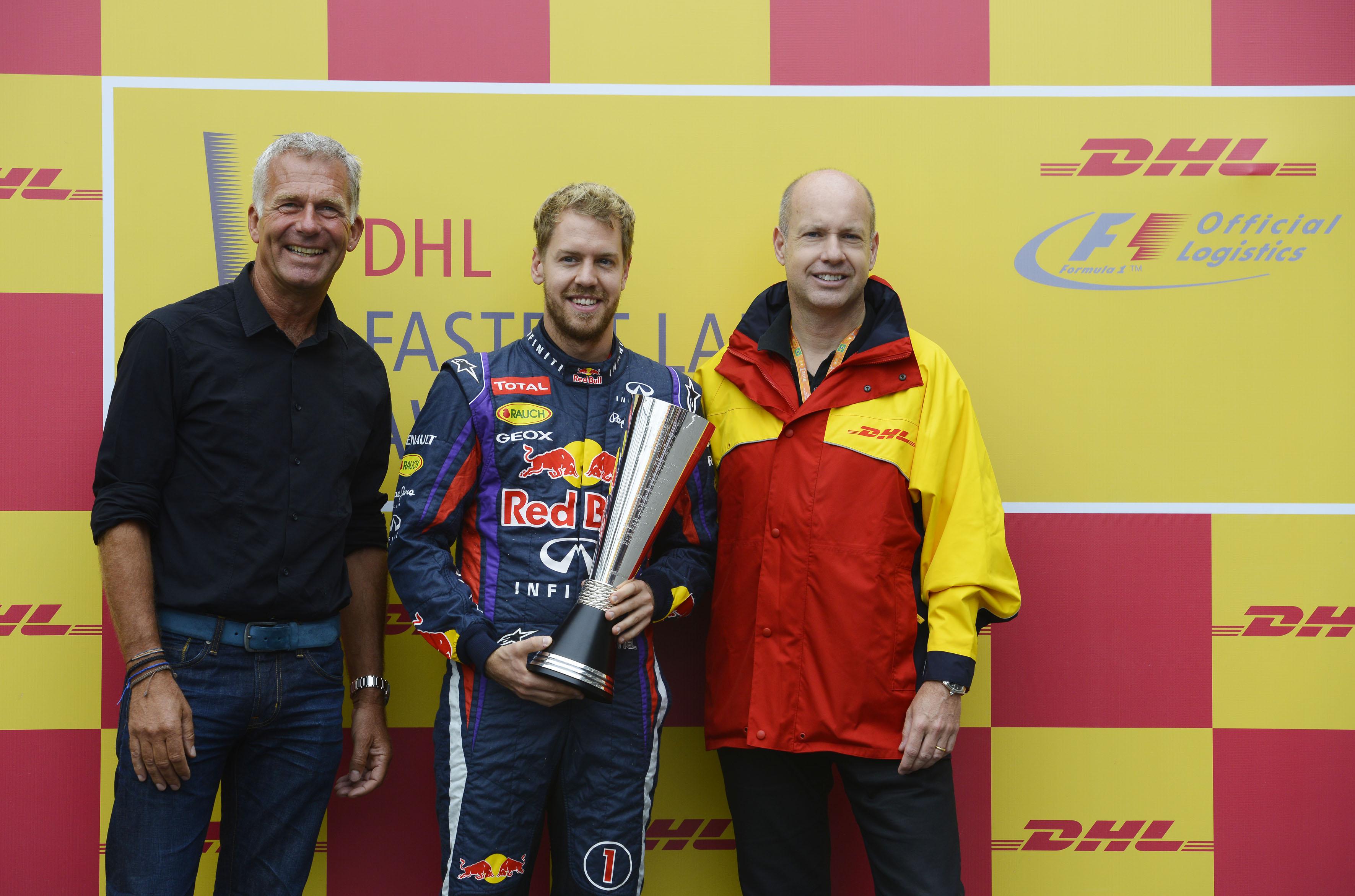 A Vettel anche il DHL Fastest Lap Award 2013