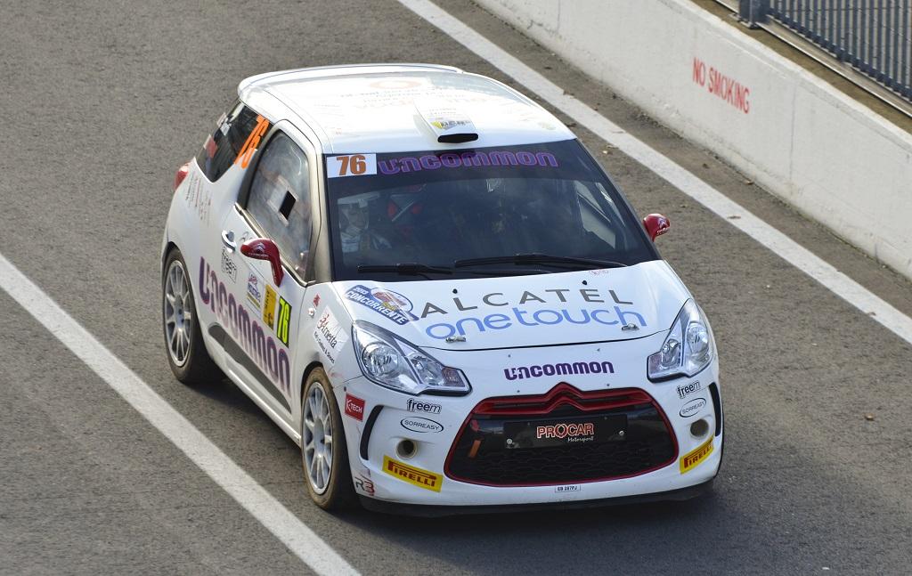 Debutto ai piedi del podio per Gabbiani al Monza Rally Show