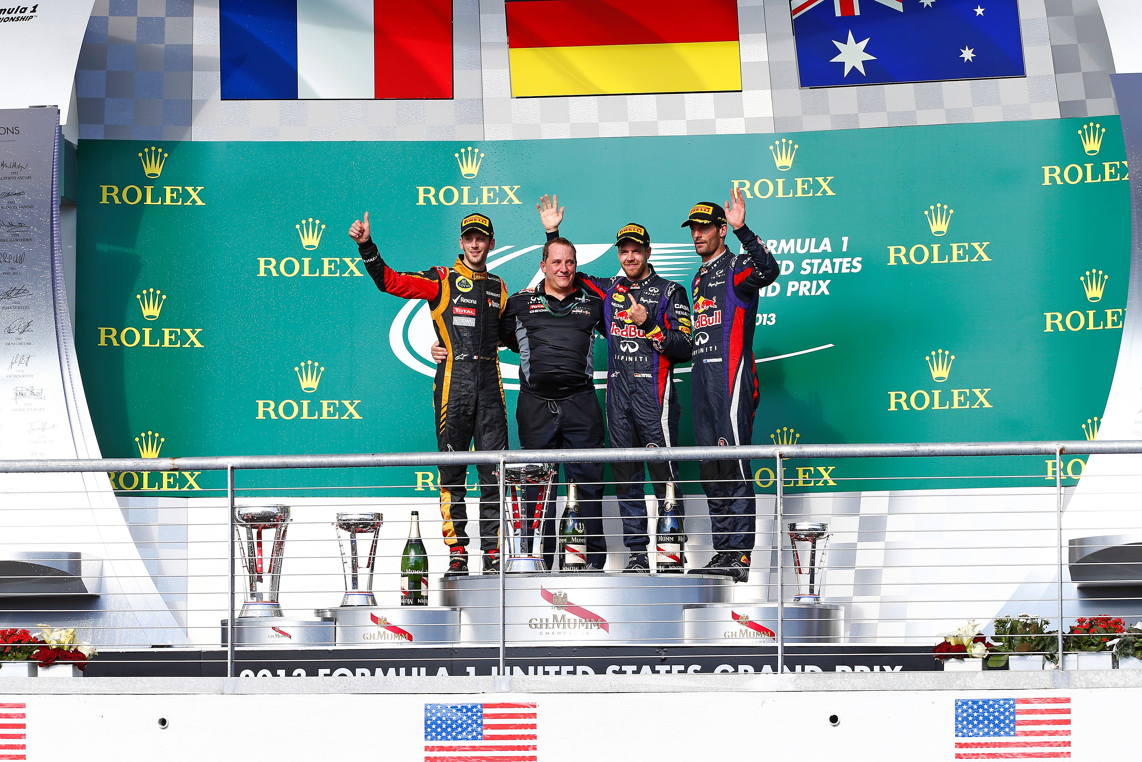 Quinto podio 2013 tutto Renault negli USA