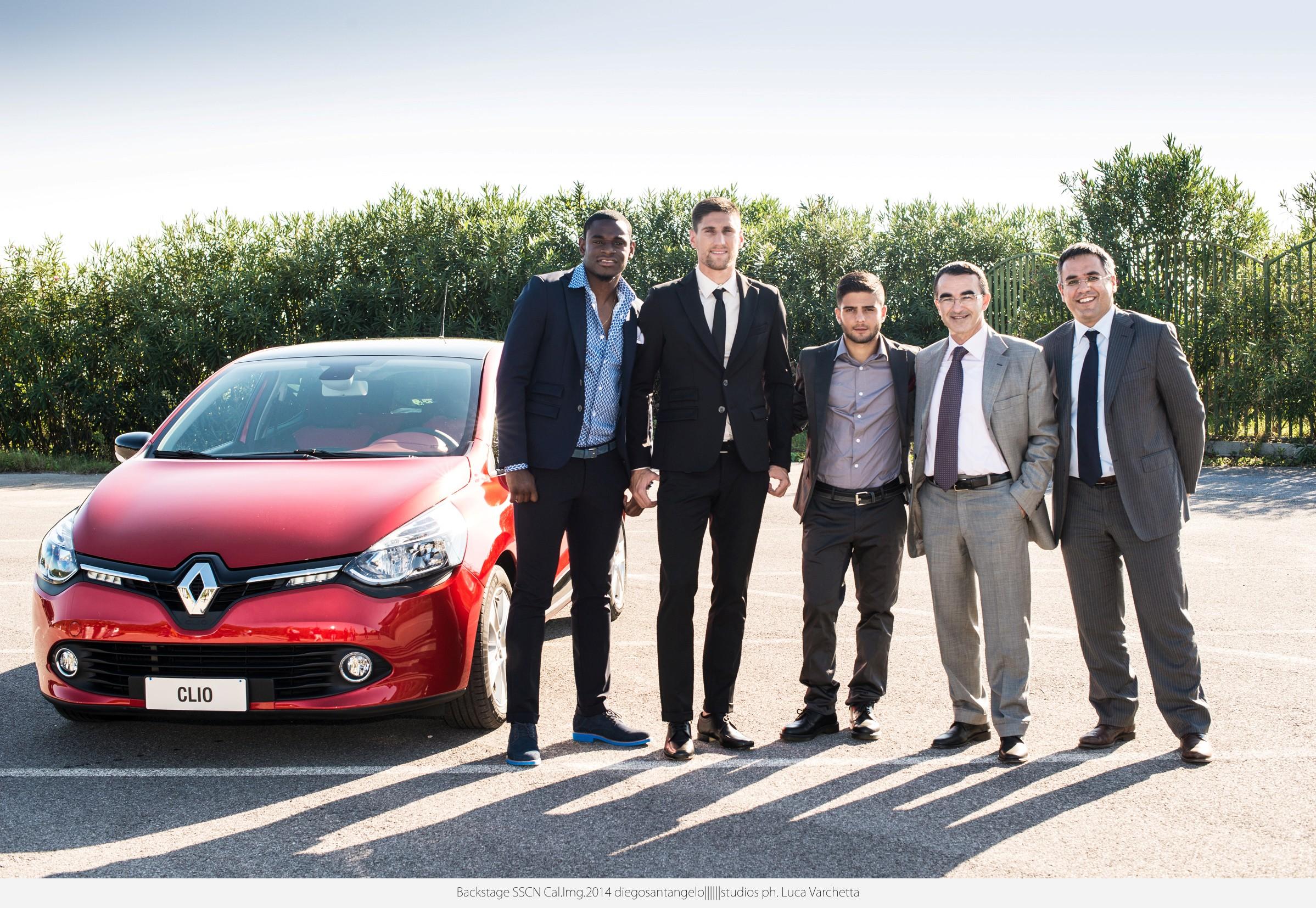 Renault fornitore ufficiale del Calcio Napoli