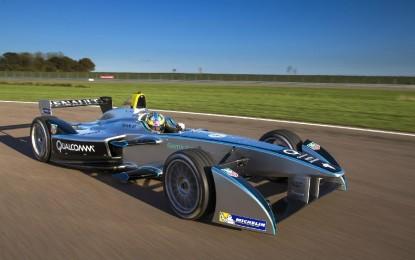 Formula E: primi giri di pista per la Spark-Renault
