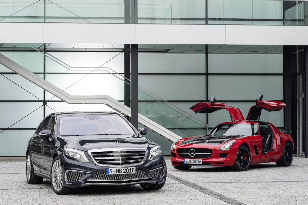 Nuove S 65 AMG e SLS AMG GT Final Edition