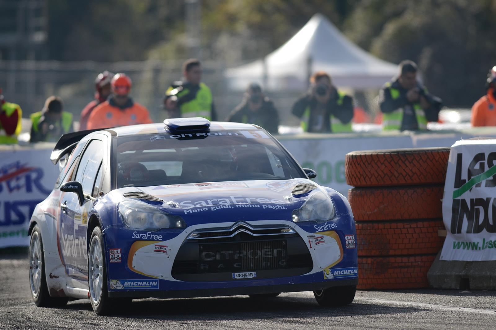 Capello e SaraFree terzi al Monza Rally Show