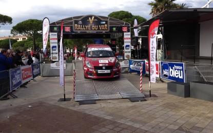 Suzuki Swift protagonista anche nel Rally du Var