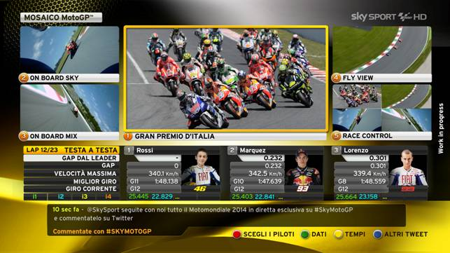 Sky Sport presenta la MotoGP 2014