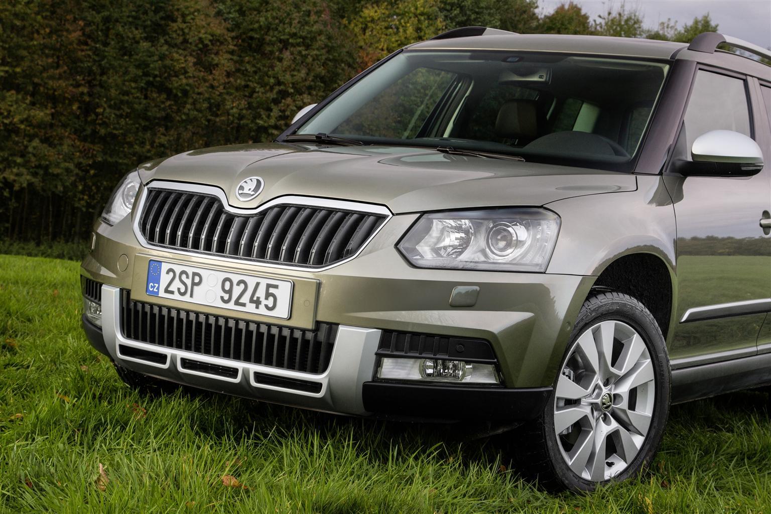 Skoda Yeti: il SUV compatto si fa in due