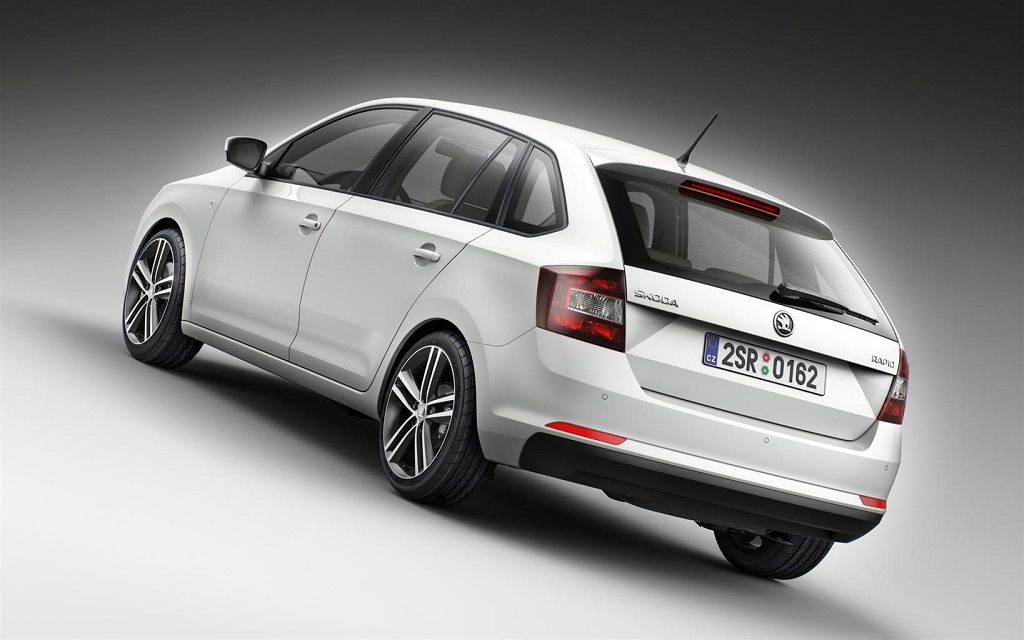 ŠKODA Rapid Spaceback al debutto