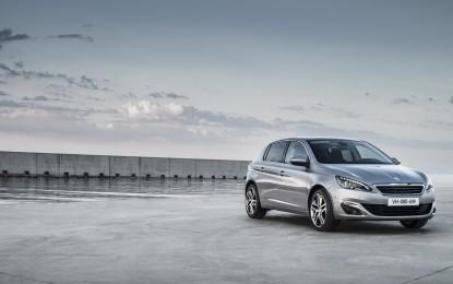 Nuova Peugeot 308 ottiene le 5 stelle