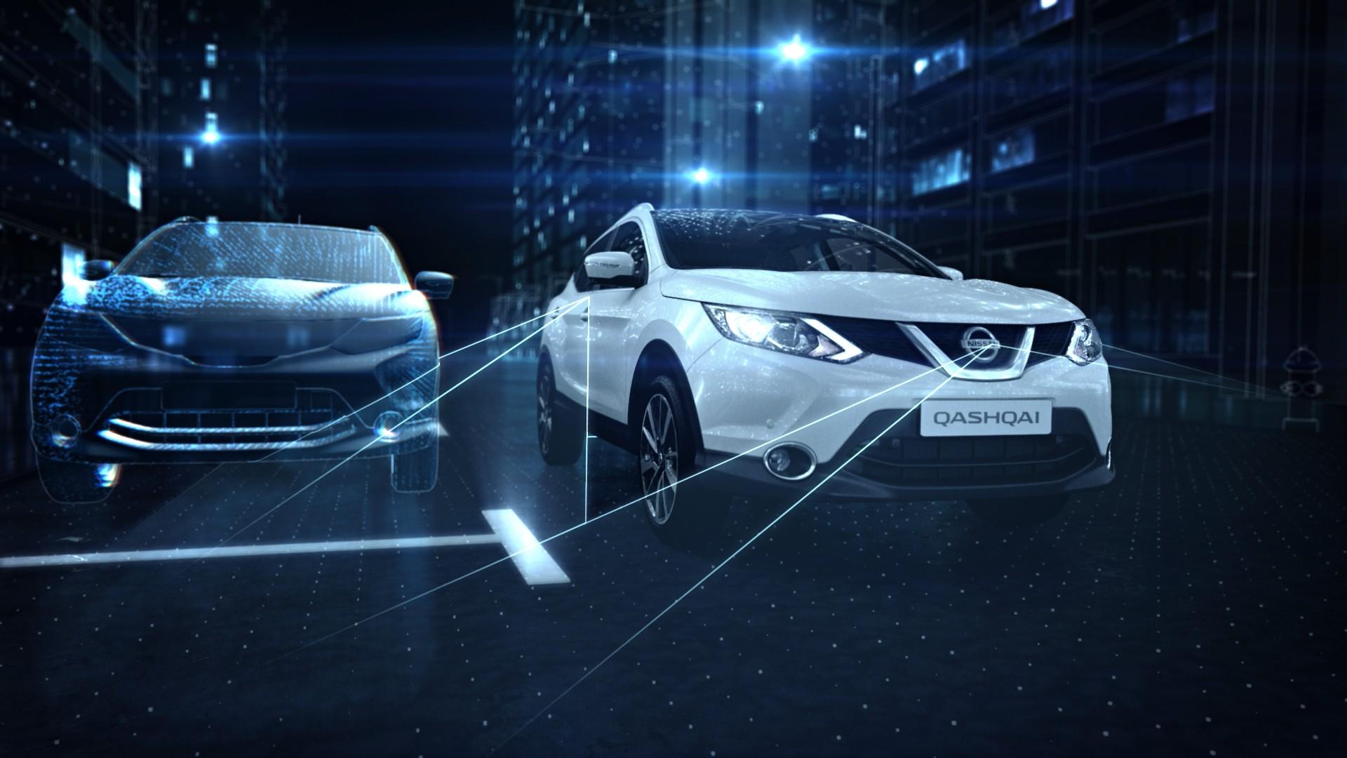 Nissan Qashqai: i parcheggi più facili al mondo